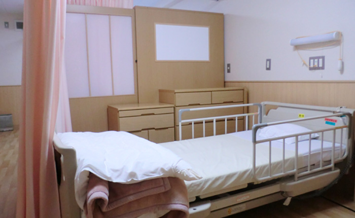 ユニット型の全室個室